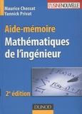 Maurice Chossat et Yannick Privat - Mathématiques de l'ingénieur.