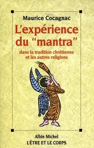 """Maurice Cocagnac - L'Expérience du """"mantra"""" dans la tradition chrétienne et ...."""
