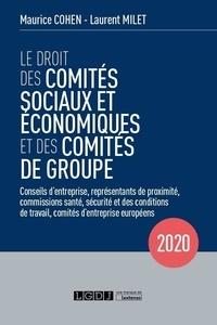 Maurice Cohen et Laurent Milet - Le droit des comités sociaux et économiques et des comités de groupe - Commissions santé, sécurité et des conditions de travail, représentants de proximité, conseils d'entreprise, comités d'entreprise européens.