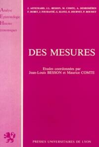 Maurice Comte et  Collectif - Des mesures.