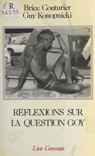 Réflexions sur la question goy