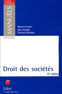Maurice Cozian et Florence Deboissy - Droit des sociétés..