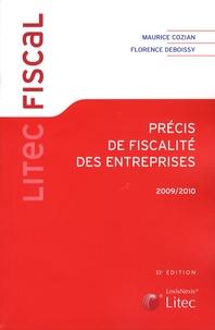 Maurice Cozian et Florence Deboissy - Précis de fiscalité des entreprises 2009-2010.