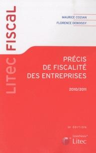 Histoiresdenlire.be Précis de fiscalité des entreprises 2010/2011 Image