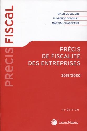 Précis de fiscalité des entreprises  Edition 2019-2020