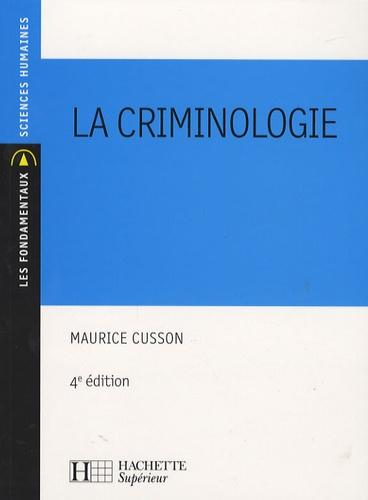 La criminologie 4e édition