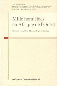 Mille homicides en Afrique de lOuest - Burkina Faso, Côte dIvoire,Niger et Sénégal.pdf
