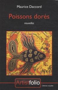Maurice Daccord - Poissons dorés.