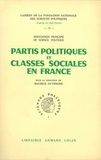 Maurice Duverger - Partis politiques et classes sociales en France.
