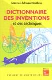 Maurice-Edouard Berthon - Dictionnaire des inventions et des techniques.