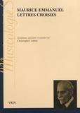 Maurice Emmanuel - Lettres choisies (1880-1938).