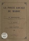 Maurice Exelmans et H. Hofstetter - La poste locale du Maroc.