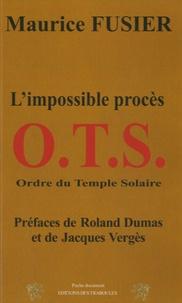 Deedr.fr OTS - L'impossible procès Image