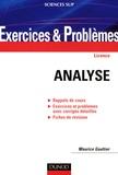 Maurice Gaultier - Analyse - Rappels de cours, Exercices et problèmes avec corrigés détaillés, Fiches de révision.