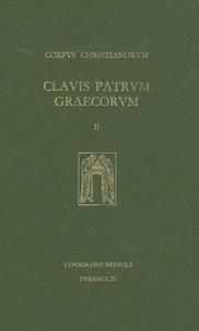 Maurice Geerard - Clavis Patrum Graecorum - Volume 2, Ab Athanasio ad Chrysostomum.