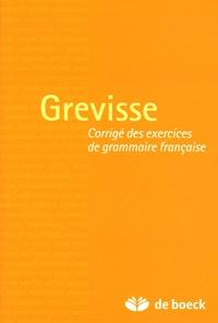 Era-circus.be Grevisse - Corrigé des exercices de grammaire française Image
