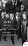 Maurice Grimaud - Mai 68 - Mémoires.
