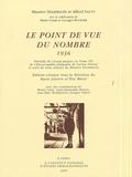 Maurice Halbwachs et Alfred Sauvy - Le point de vue du nombre 1936.