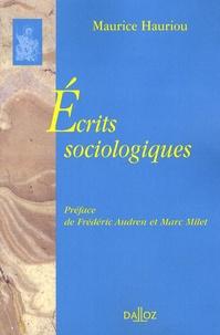 Ecrits sociologiques.pdf