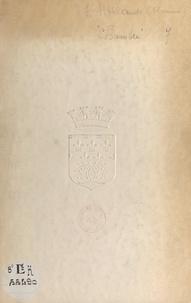 Maurice Hollande et Léon Blot - Chambre de Commerce de Reims, 1801-1951 - Un siècle et demi au service de l'économie champenoise.