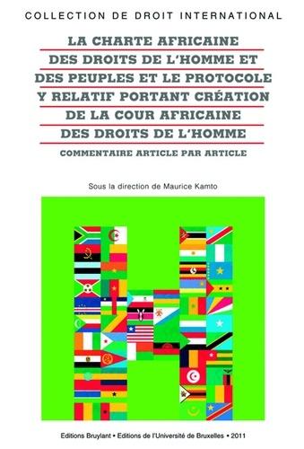 Charte Africaine Des Droits De L Homme