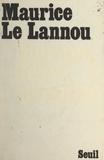 Maurice Le Lannou - Europe, terre promise.