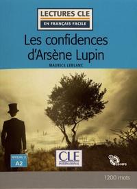 Maurice Leblanc - Les confidences d'Arsène Lupin. 1 CD audio MP3