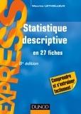 Maurice Lethielleux - Statistique descriptive - 8e éd. - en 27 fiches.
