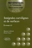Maurice Lofficial et Daniel Tanré - Intégrales curvilignes et de surfaces Niveau L2 - Cours et exercices corrigés.