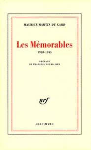 Maurice Martin du Gard - Les mémorables - 1918-1945.