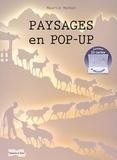 Maurice Mathon - Paysages en pop-up.