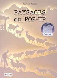 Maurice Mathon - Paysages en pop-up.