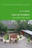 Maurice Mazalto - Cours de récréation et esapces de détente au collège et au lycée.