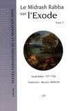 Maurice Mergui - Le Midrash Rabba sur l'Exode - Tome 2, Chapitres 15 à 24.