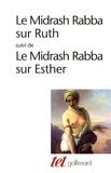 Maurice Mergui - Le Midrash Rabba sur Ruth - Suivi de Le Midrash Rabba sur Esther.