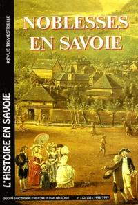 Maurice Messiez - Noblesse en Savoie N°132-133 Décembre 1998-mars 1999.