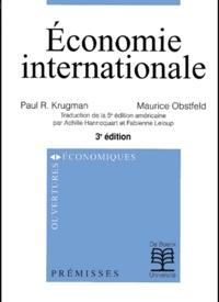 Maurice Obstfeld et Paul R. Krugman - .