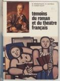 Maurice Peperstraete et Robert Vander Gucht - Témoins du roman et du théâtre français.
