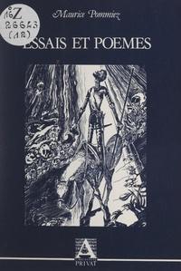 Maurice Pommiez - Essais et poèmes.