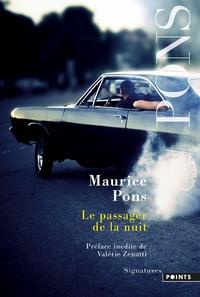 Maurice Pons - Le passager de la nuit.