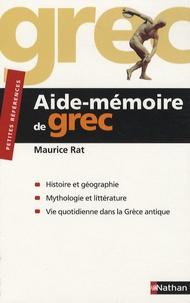 Maurice Rat - Aide-mémoire de grec.