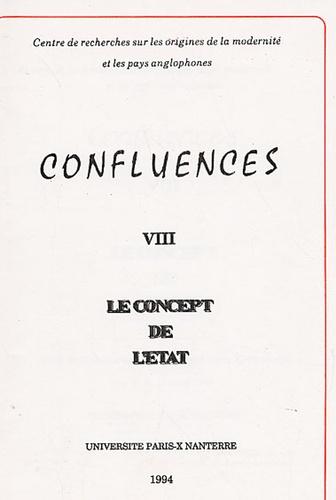 Maurice Robin et Quentin Skinner - Le concept de l'Etat - Actes du colloque tenu à l'Université Paris X-Nanterre 10 et 11 avril 1992.