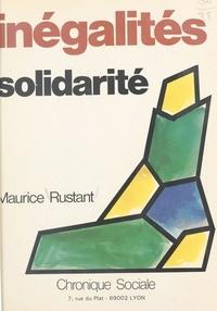 Maurice Rustant - Inégalités-solidarité.