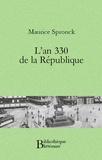 Maurice Spronck - L'an 330 de la république.