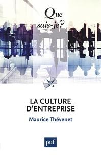 Maurice Thévenet - La culture d'entreprise.