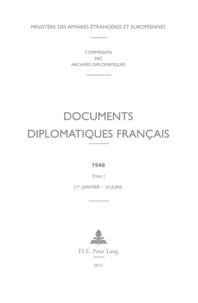 Documents diplomatiques français 1948 - Tome 1 (1er janvier - 30 juin).pdf