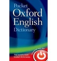 Maurice Waite - Pocket Oxford English Dictionary.