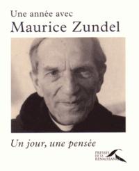 Maurice Zundel - Une année avec Maurice Zundel - Un jour, une pensée.