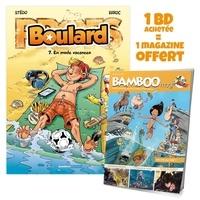 Mauricet et  Stédo - Boulard Tome 7 : En mode vacances - Avec Bamboo mag N° 73, juillet, août, septembre 2021 offert.