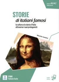 Maurizio Sandrini - Storie di italiani famosi - La cultura e la storia d'Italia attraverso i suoi protagonisti. Livello A1/A2, 1000 parole.
